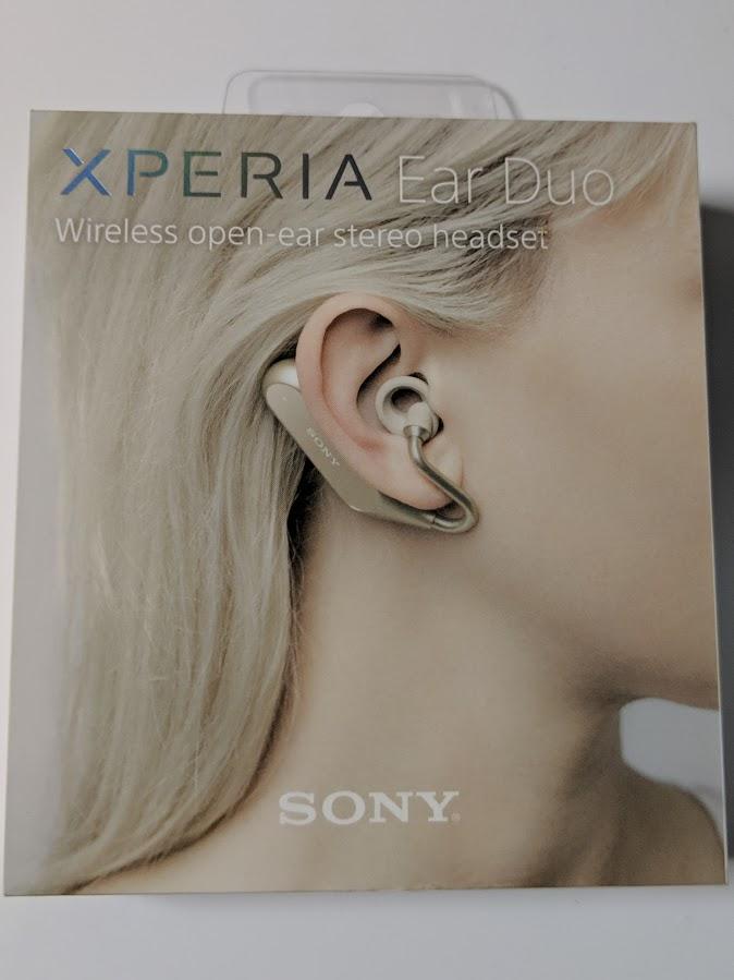 Xperia Ear Duo XEA20 の箱の画像