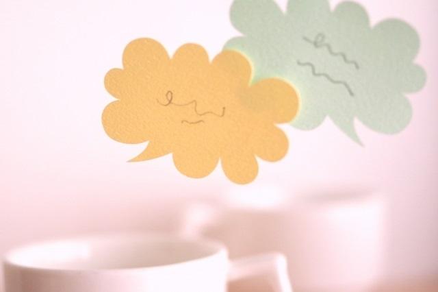 お椀で食べるカップヌードルシーフードの口コミの画像