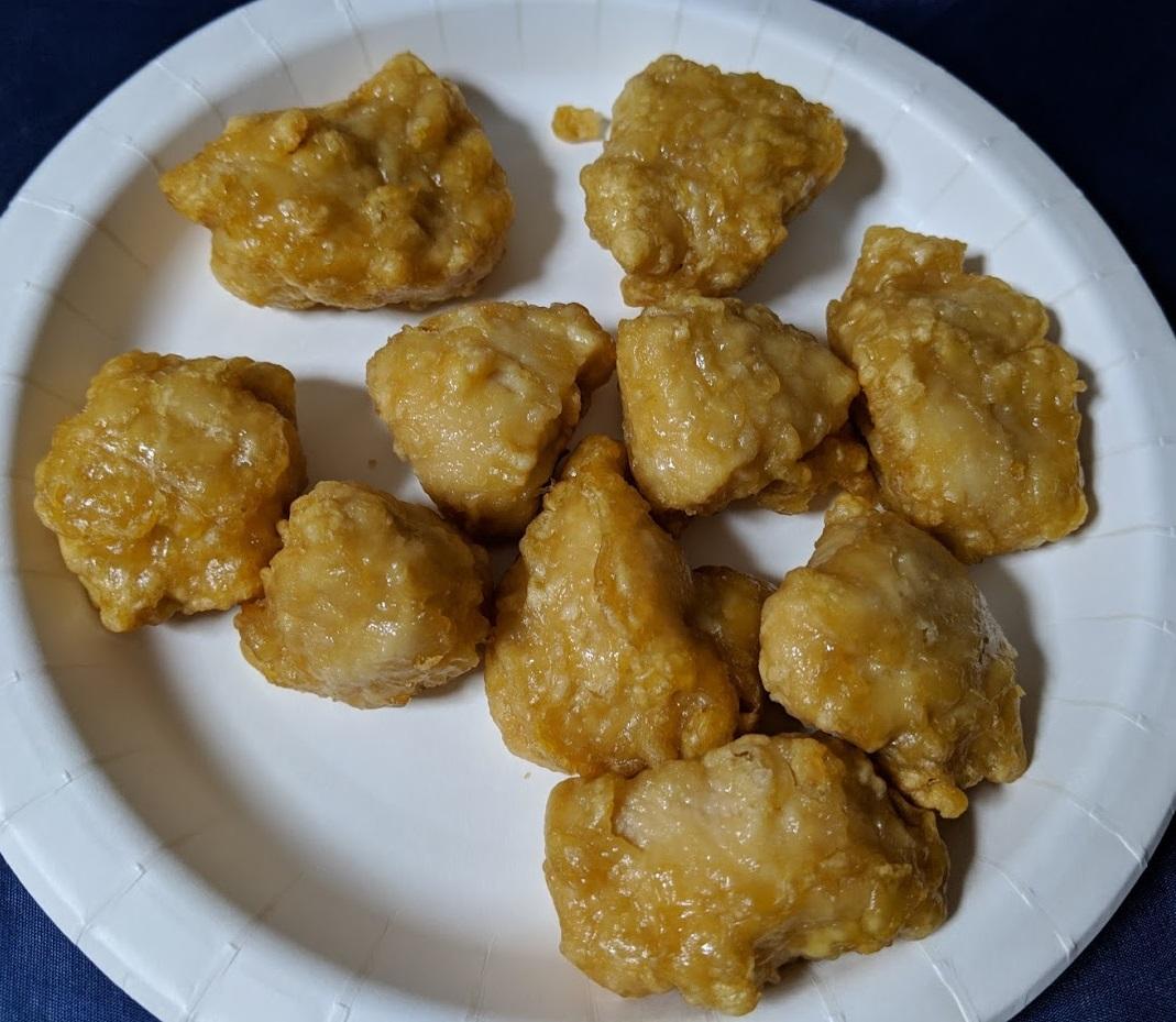 味からっやわらか若鶏から揚げふっくら鶏むねの調理後の画像