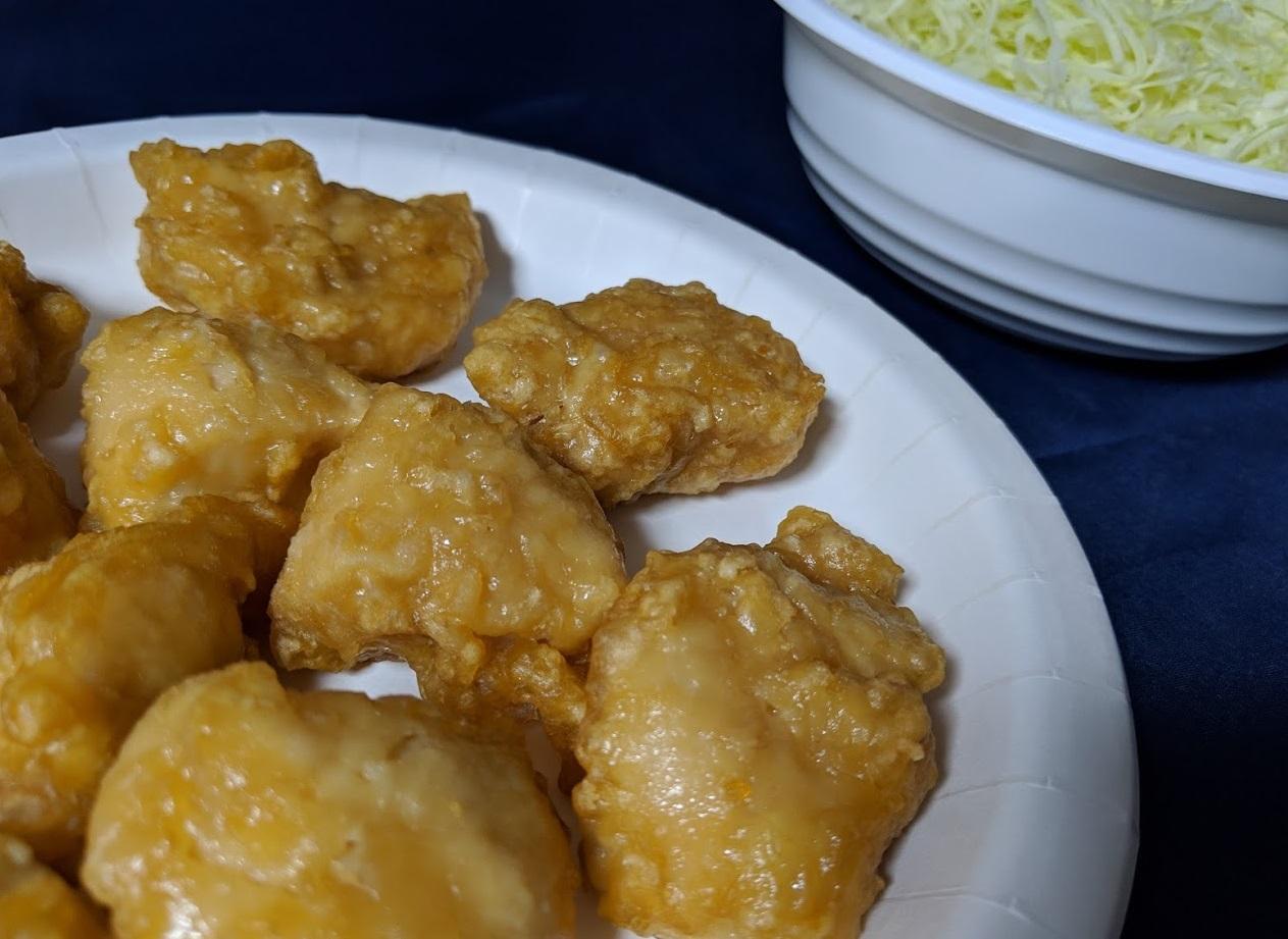 味からっやわらか若鶏から揚げふっくら鶏むねの画像