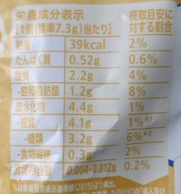 キットカット 毎日のナッツ&クランベリーの原材料名/アレルギー/カロリー/栄養成分表示の画像