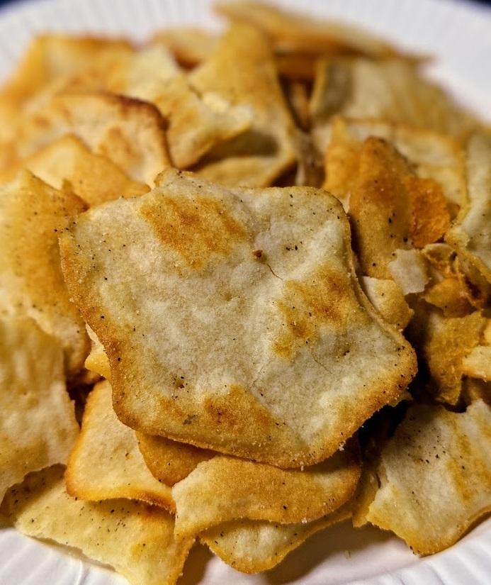 リッツ ベイクドチップス ソルト&ブラックペッパーは美味しいか?まずいか?の画像