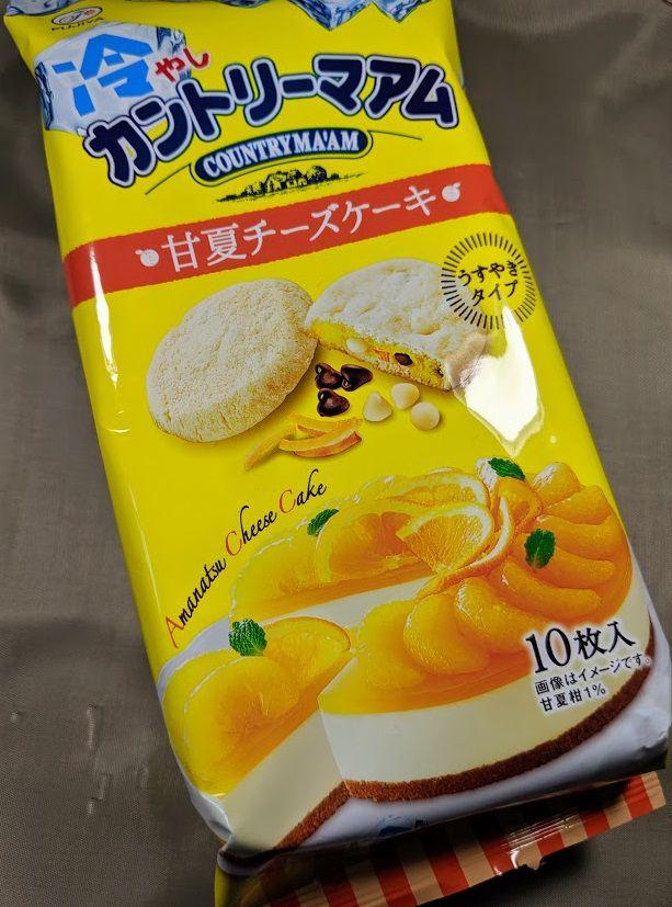 冷やしカントリーマアム(甘夏チーズケーキ)の画像