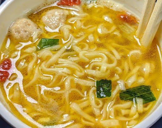 カップヌードルリッチ(スッポンスープ味)の画像