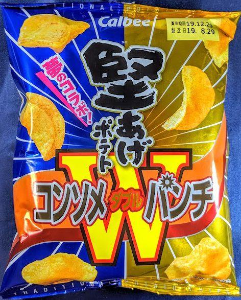 堅あげポテト(コンソメWパンチ)