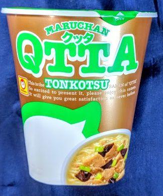 MARUCHAN QTTA(クッタ)とんこつ