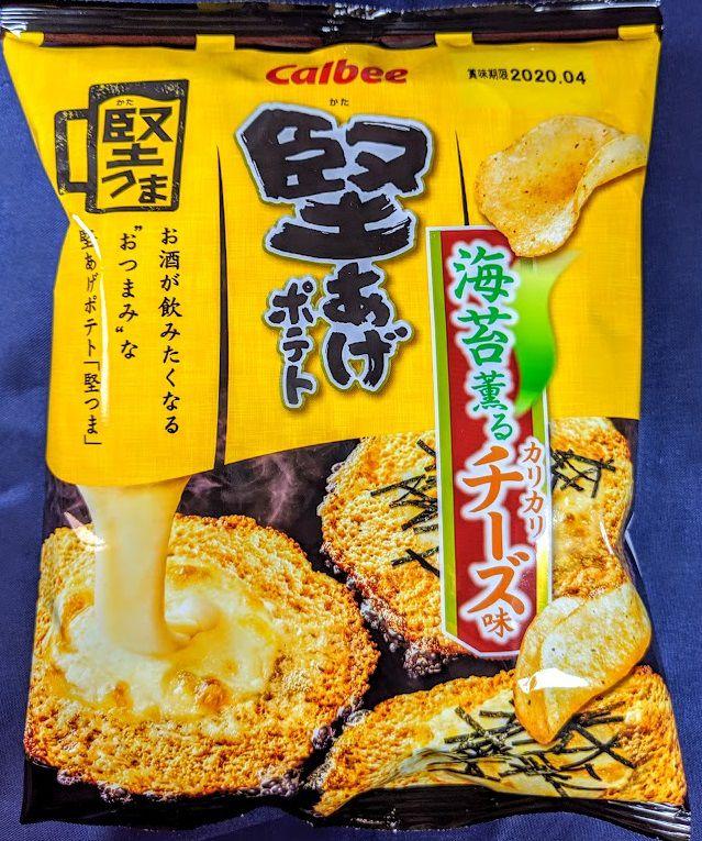 堅あげポテト(海苔薫るカリカリチーズ味)
