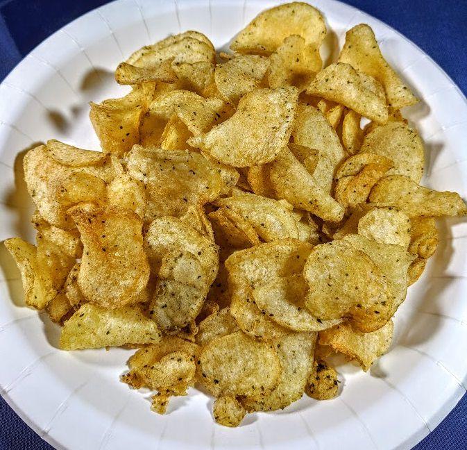 堅あげポテト(海苔薫るカリカリチーズ味)の画像