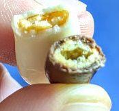 亀田の柿の種(ミルクチョコ&ホワイトチョコ)は美味しいか?まずいか?の画像