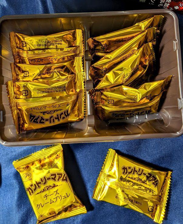 カントリーマアム(チーズクレームブリュレ)の画像