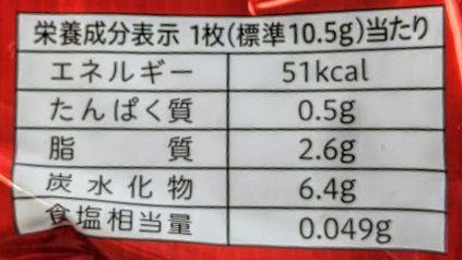 カントリーマアム(あまおう苺)のカロリー/栄養成分表示の画像