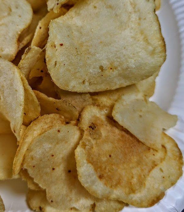 ポテトチップス栃木の味(宇都宮焼餃子味)は美味しいか?まずいか?の画像