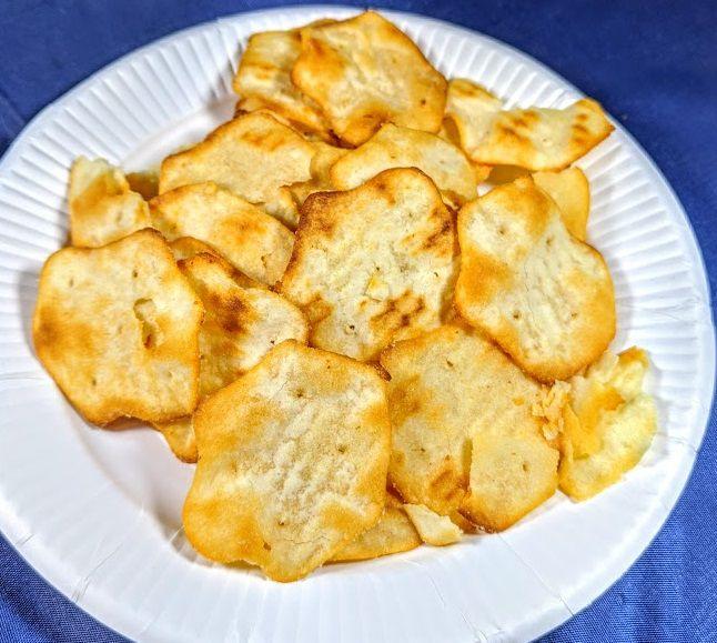 リッツ ベイクドチップス(チーズ&オニオン)の画像