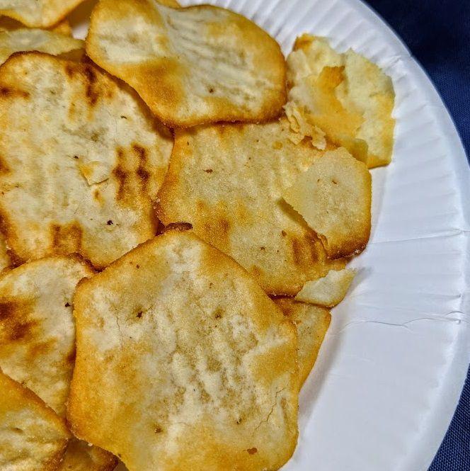 リッツ ベイクドチップス(チーズ&オニオン)は美味しいか?まずいか?の画像