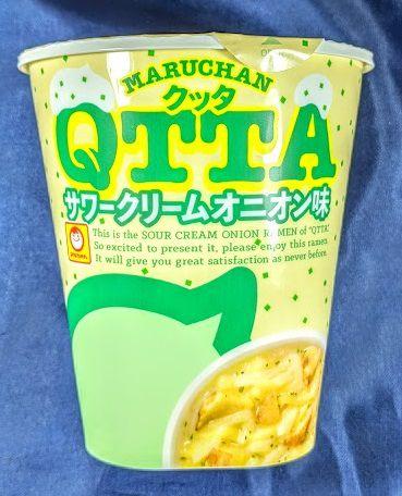 MARUCHAN QTTA(クッタ)サワークリームオニオン味
