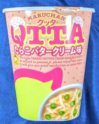 MARUCHAN QTTA(クッタ)たらこバタークリーム味