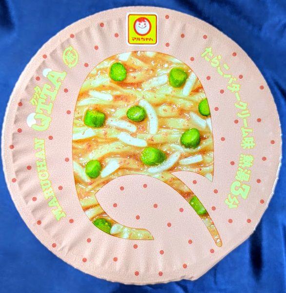 MARUCHAN QTTA(クッタ)たらこバタークリーム味のパッケージの画像