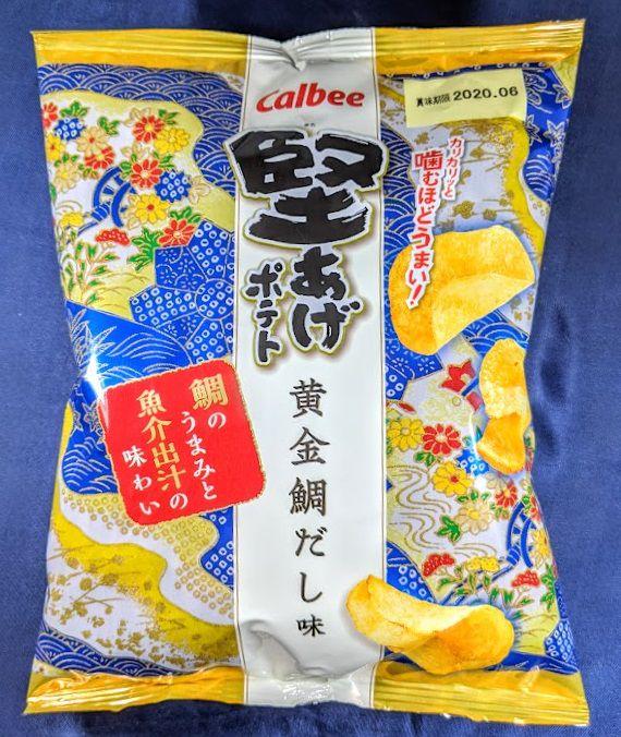 堅あげポテト(黄金鯛だし味)