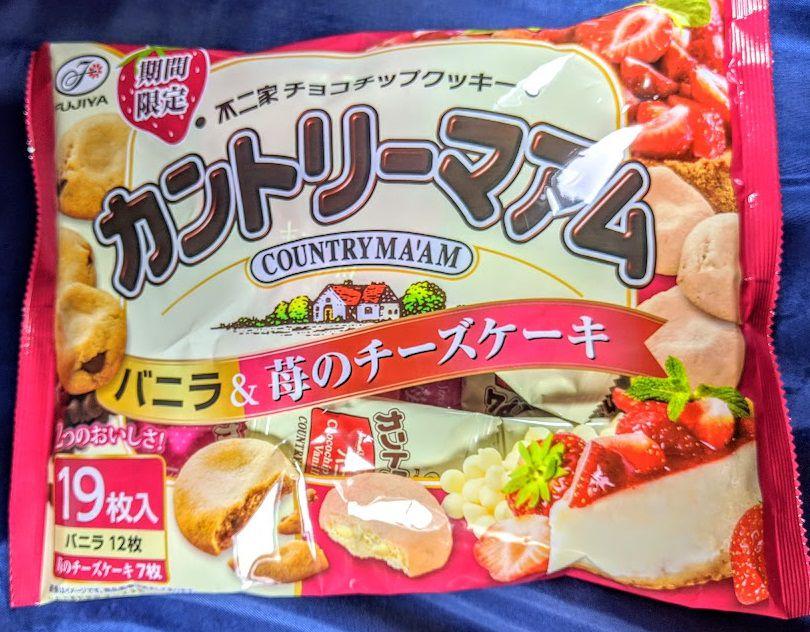 カントリーマアム(バニラ&苺のチーズケーキ)