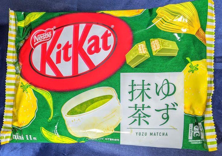 キットカット ミニ(ゆず抹茶)