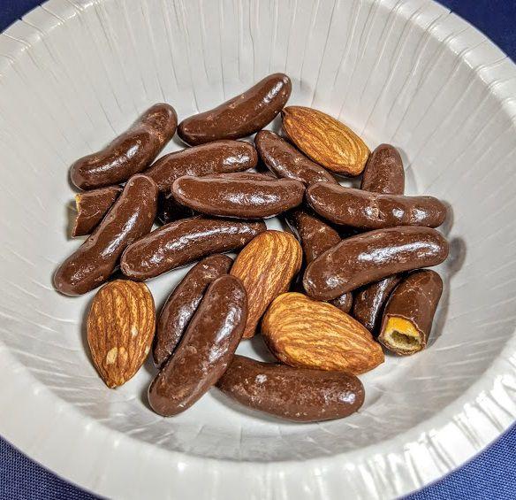 亀田の柿の種(チョコ&アーモンド)の画像