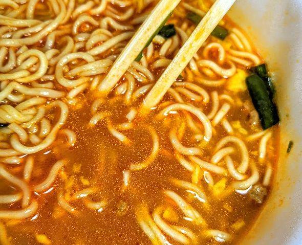 明星 チャルメラどんぶり 宮崎辛麺は美味しいか?まずいか?の画像