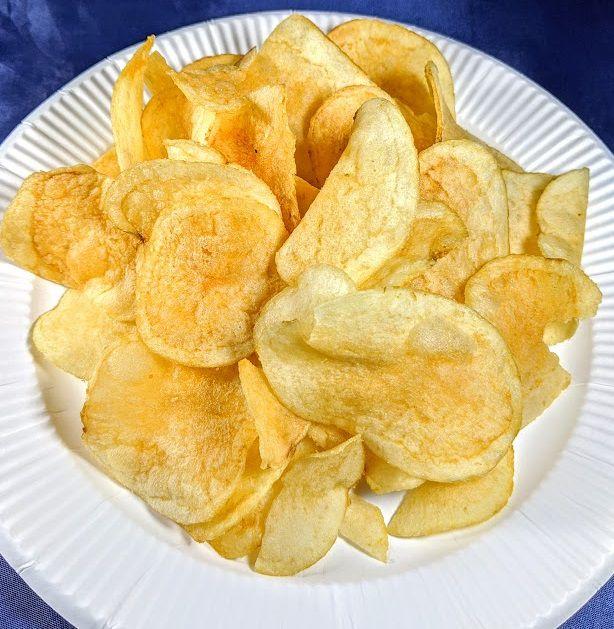 ポテトチップス(令和のだししお味)の画像
