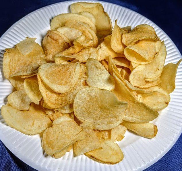 カルビー ポテトチップス千葉の味(丸大豆しょうゆ味)の画像